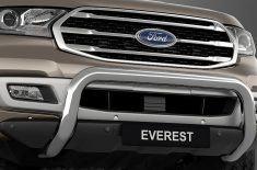 Everest – Thanh cản trước mạ Chrome