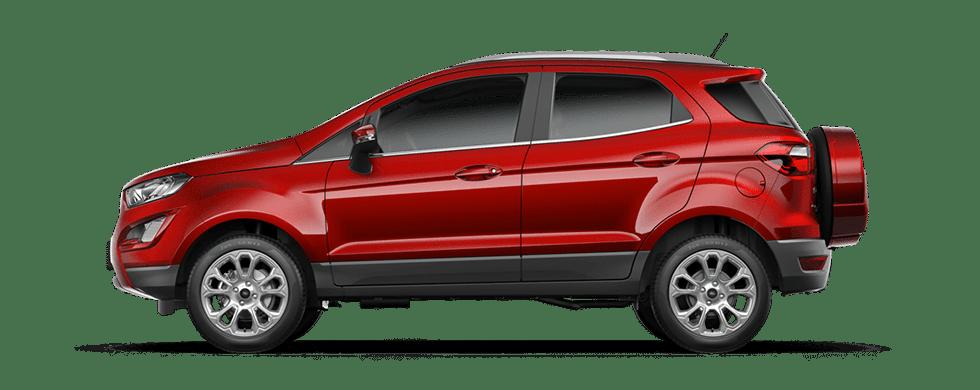 Ford EcoSport - Đỏ ngọc Ruby