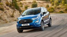 Ford EcoSport – Khoảng sáng gầm xe tối tưu