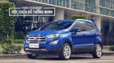 Ford EcoSport – Ngăn chứa đồ thông minh