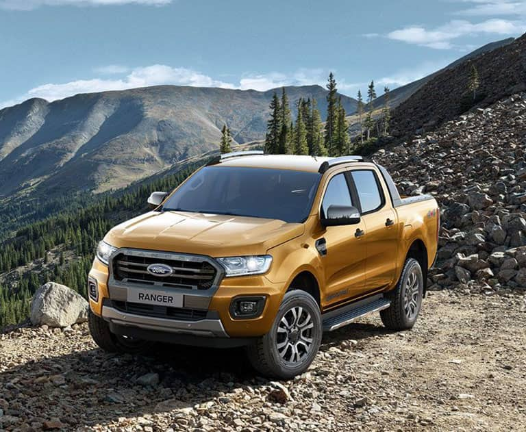 Slide Ford Ranger Mobile