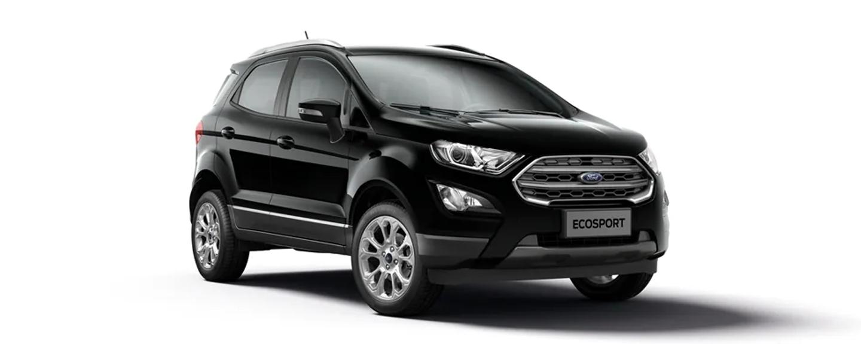 Ford EcoSport - Đen