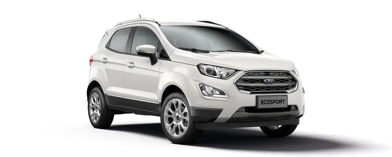 Ford EcoSport - Trắng kim cương